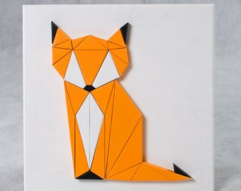 140 Wooden Cunning Fox