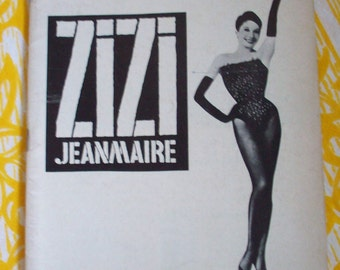 ZIZI  JEANMAIRE  and   BROADWAY