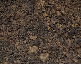 Natural Dirt, organic soil for moss terrariums, fairy gardens, nutritious mineral rich planting compost earthy renewable source