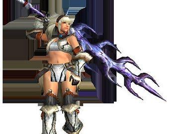 Monster Hunter X Great Sword Kirin Thundersword Kirin equipment cosplay 250cm