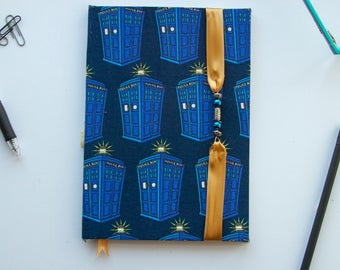 Doctor Who TARDIS Hardcover Lined Notebooks Various Sizes