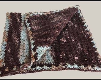 Crocheted Afghan - blanket - Baby, toddler, Crib, lapghan - Ready to Ship!