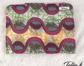 Tablet 10 inch wax and felt pouch