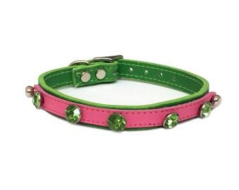 Green Gems Vanity Plate