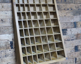 Pigeon Hole Shelf Unit