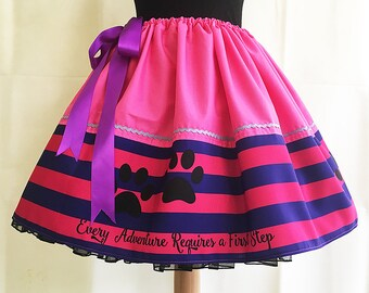 Cheshire Cat Costume, Cheshire Cat full dressing up skirt, fantasy skirts from rooby lane,