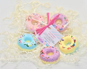 Mini Donut Bath Bomb Set, Donut bath bombs, Bath Bombs