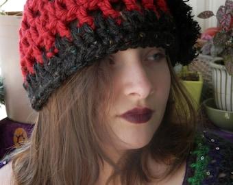 Crocheted Cloche Hat Soft And Pretty