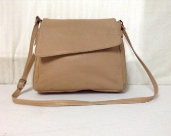 Etonnant Tan Leather Purse, Cabin Creek,bag, Shoulder Bag