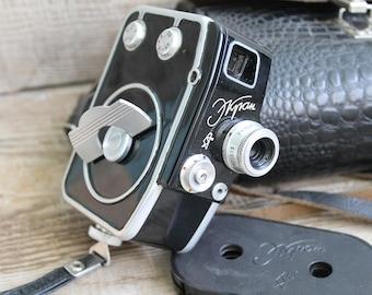Genuine Camera - Old Vintage Soviet  Movie Ekran -  8mm Vintage 60s Soviet Film Camera - Cine Camera - Collectible Camera  Working Camera