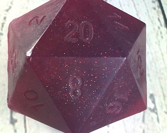 D20 Soap, Jolly Rancher Scented Soap, Gamer Gifts, Gifts for Gamers, Geek Soap, Glycerine Soap, 4oz Soap