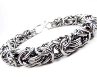 Thick Byzantine - Chainmaille Bracelet