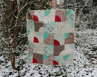 Candy Twists quilt pattern by Nellie's Niceties