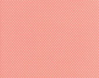 Home Sweet Home - Dark Pink Swiss Heart Fabric - Stacy Iest Hsu - Sold by Half Yard