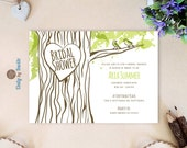 Oak tree bridal shower in...
