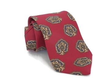 NWT Vintage Men's Tie by Christian  Dior Necktie w/Strawbridge and Clothier Box