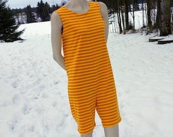 Finnish Sauna Suit - yellow & orange