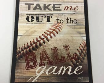 Popular Items For Baseball Wall Decor