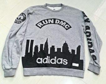 RUN DMC Jam Master Jay Tribute Concert Graphic Tee T-Shirt Short Sleeve Black Red 2002 Vintage Hip-Hop Size Large DJ Music Db1gyHrtRl