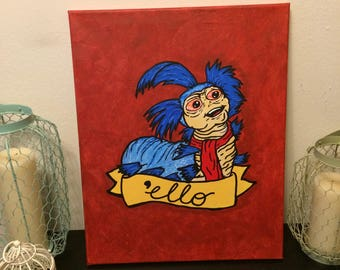 ello, not hello! - Labyrinth Movie Art