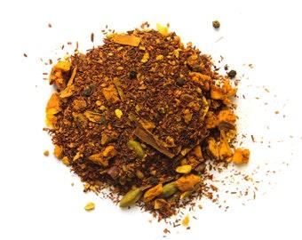 Turmeric Ginger Rooibos Herbal Tea  2oz.