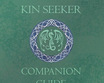 Kin Seeker Companion Guide, Light Epic Fantasy Series, Illustrations and Comics