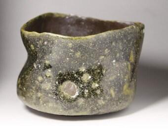 Wood Fired Tea Bowl. Chawan. Udzukumaru
