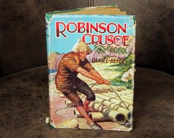 Robinson Crusoe by Daniel Defoe c1958
