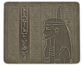 Mousepad Maat - personalized with your name in hieroglyphs