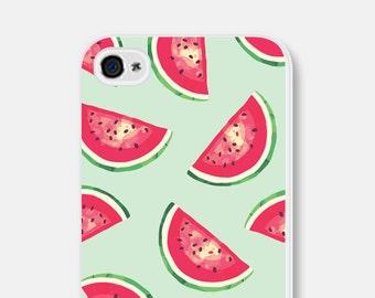 Watermelon iPhone 6s Case iPhone 6 Case Watermelon Samsung Galaxy S5 Case iPhone 5 Case iPhone 6s Plus Case Mint Phone Case Mint iPhone Case