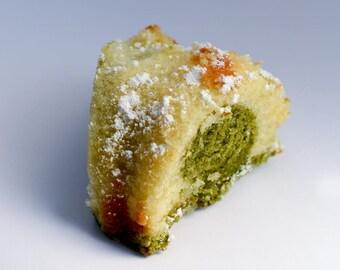 Vanilla Matcha Pound Cake