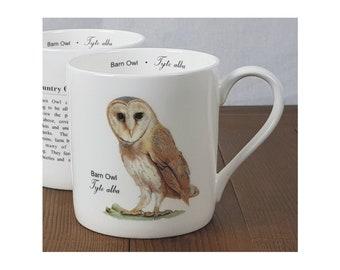Barn Owl - Fine Bone China Mug