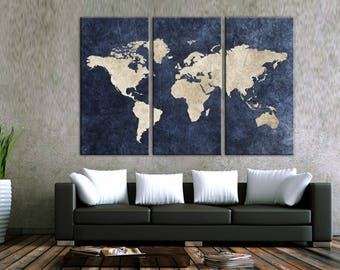 World map canvas etsy travel world map canvas wall art world map canvas canvas world map wall art canvas print wall decor art christmas gift travel world map gumiabroncs Images
