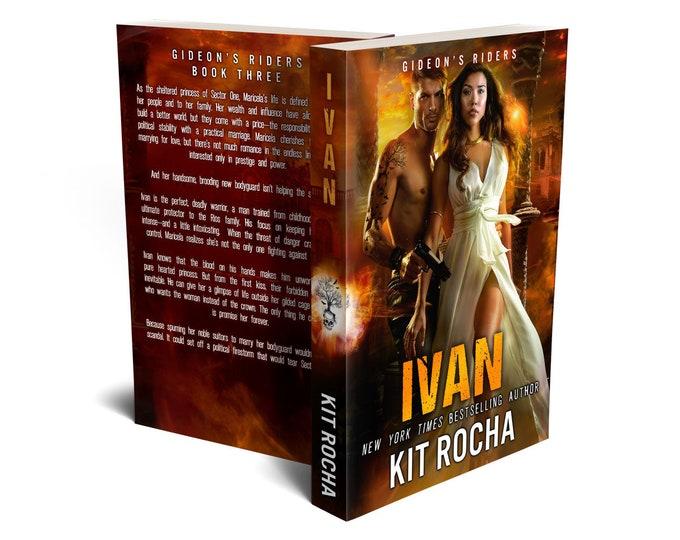 Ivan (Autographed) + Bookmark & Sticker Swag