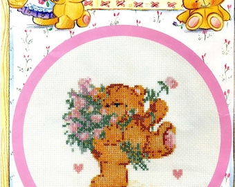 cross stitch Kit counted anchor: friends forever
