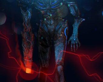 Metroid - Corrupted Samus