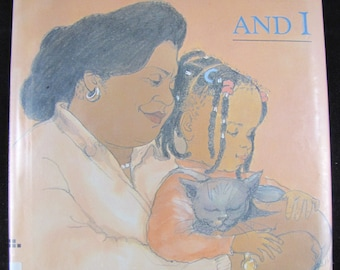 Grandmother and I // 1994 Hardback 1st edition // Sweet Bedtime story about grandmothers // multicultural // ISBN 068812531X