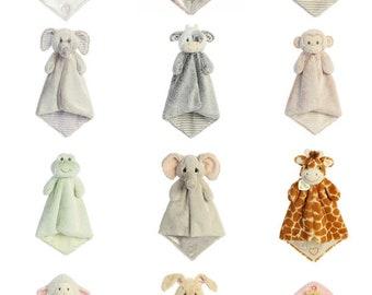 Personalized lovie etsy personalized lovie blankie animal lovie personalized animal blanket security blanket luvster negle Gallery