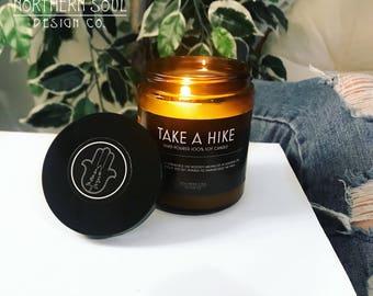 Take A Hike- Soy Candle