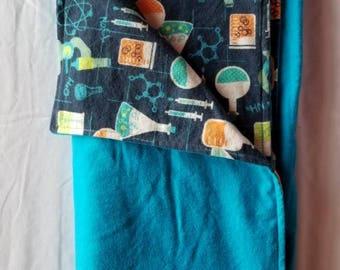 Little scientist blanket