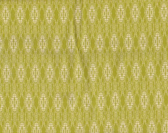 1/2 yd. Fortiny by Tina Givens - Mask, Chartreuse