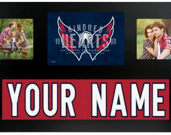 Washington Capitals NHL Jersey Custom Picture Frame