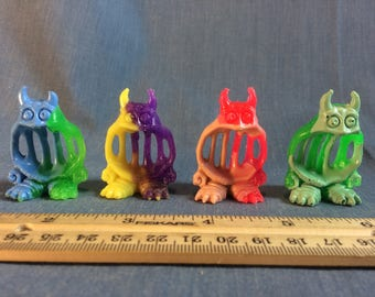 Multi-color Rubber Cast Real Ghostbusters Jail Jaw Ghost