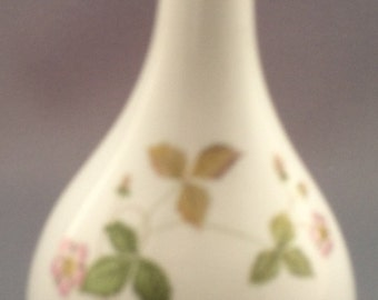 Wedgwood Wild Strawberry Bud Vase