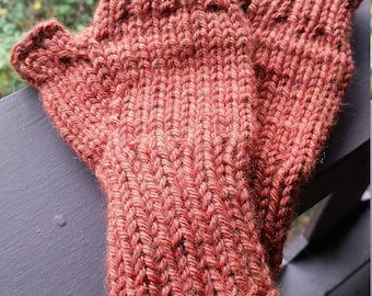 Fall Mitts - Orange