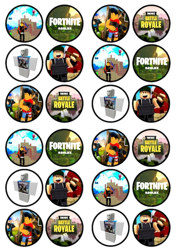 fortnite printable cake toppers download - eetbare cupcake print fortnite