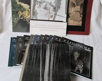 Lot of 14 Assorted Vintage Photography Magazines. Lenswork etc.