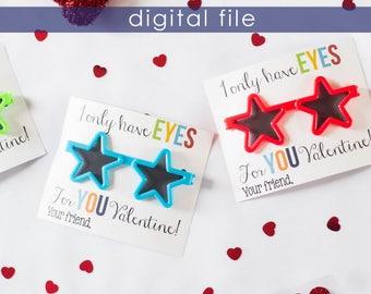 Preschool Valentine | Printable Valentine | Preschool Valentines | Valentines | Kids Valentines | School Valentine | Valentine Printable
