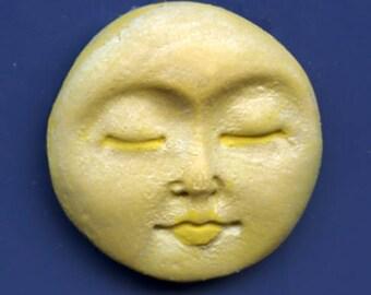 Polymer Clay Sun Cab  Yellow Pearl SNC 1