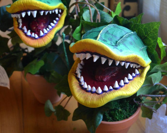 XL Hand Sculpted Bobble Head Audrey II from Little Shop of Horrors